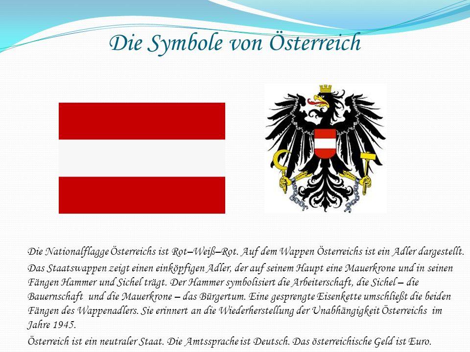 Die Symbole von Österreich