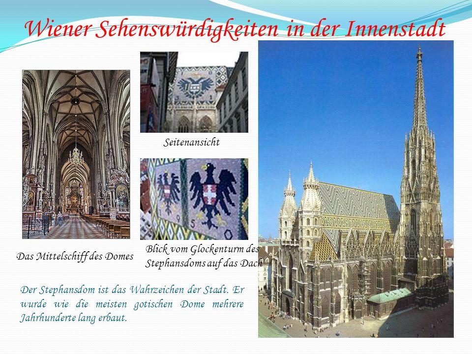 Wiener Sehenswürdigkeiten in der Innenstadt