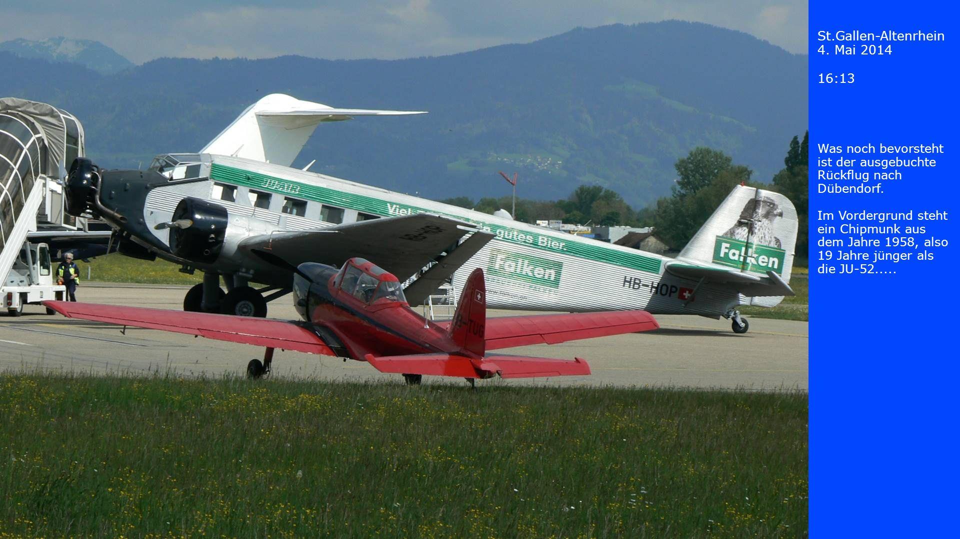 St.Gallen-Altenrhein 4. Mai 2014 16:13