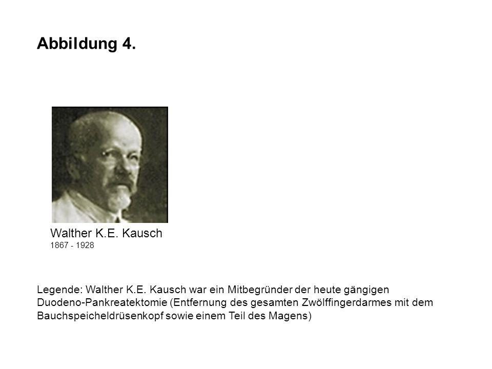 Abbildung 4. Walther K.E. Kausch
