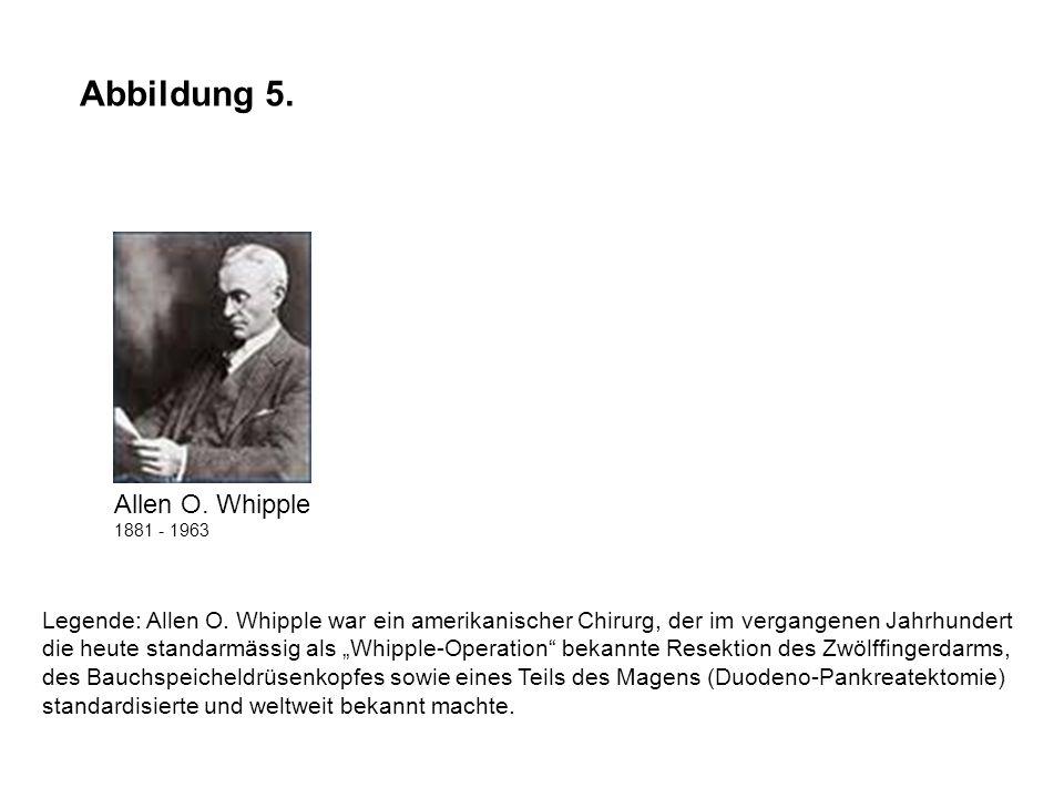 Abbildung 5. Allen O. Whipple