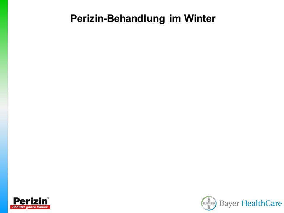 Perizin-Behandlung im Winter