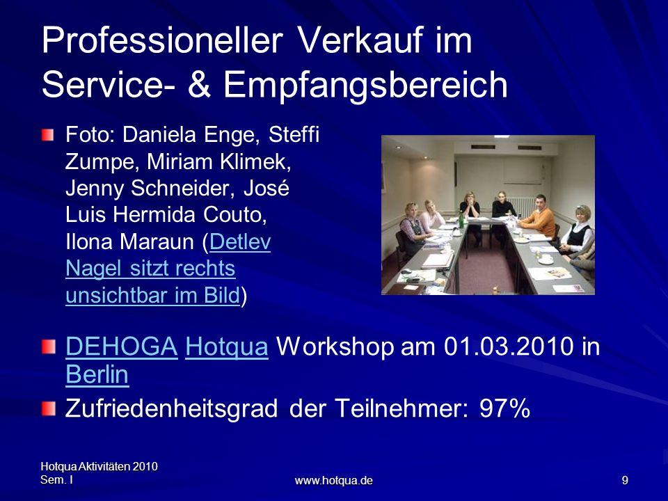Professioneller Verkauf im Service- & Empfangsbereich