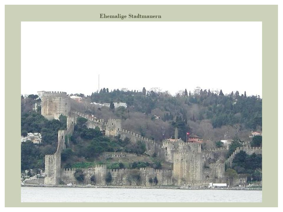 Ehemalige Stadtmauern