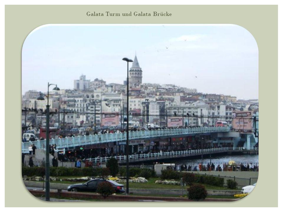 Galata Turm und Galata Brücke