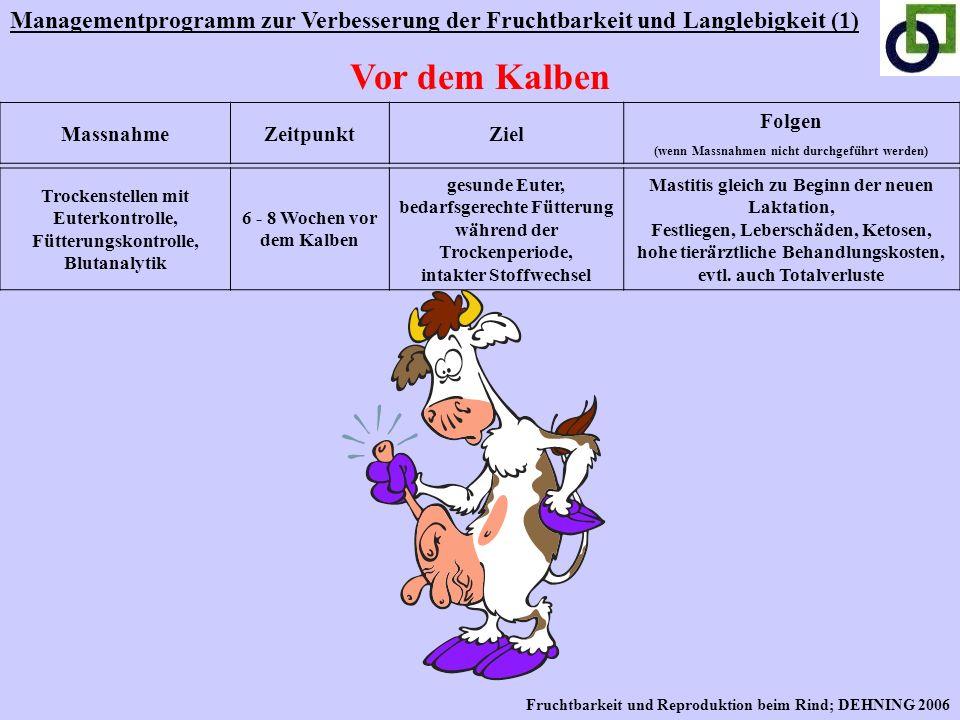 Managementprogramm zur Verbesserung der Fruchtbarkeit und Langlebigkeit (1)