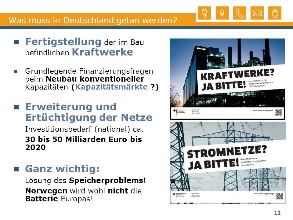 Was muss in Deutschland getan werden