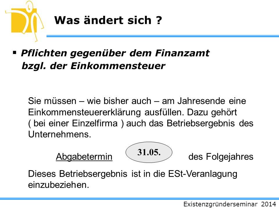 Pflichten gegenüber dem Finanzamt