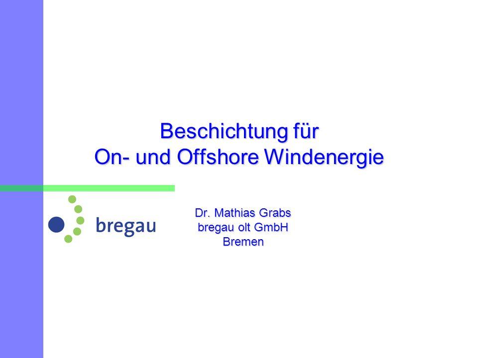 Beschichtung für On- und Offshore Windenergie