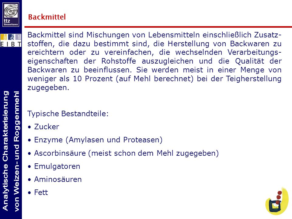 Backmittel