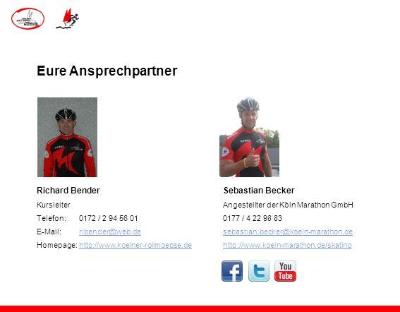 Eure Ansprechpartner Richard Bender Sebastian Becker