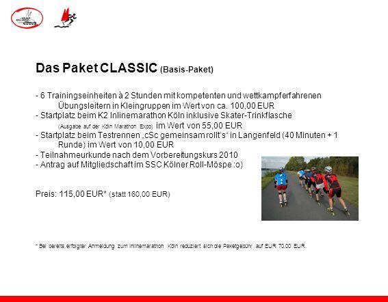Das Paket CLASSIC (Basis-Paket)