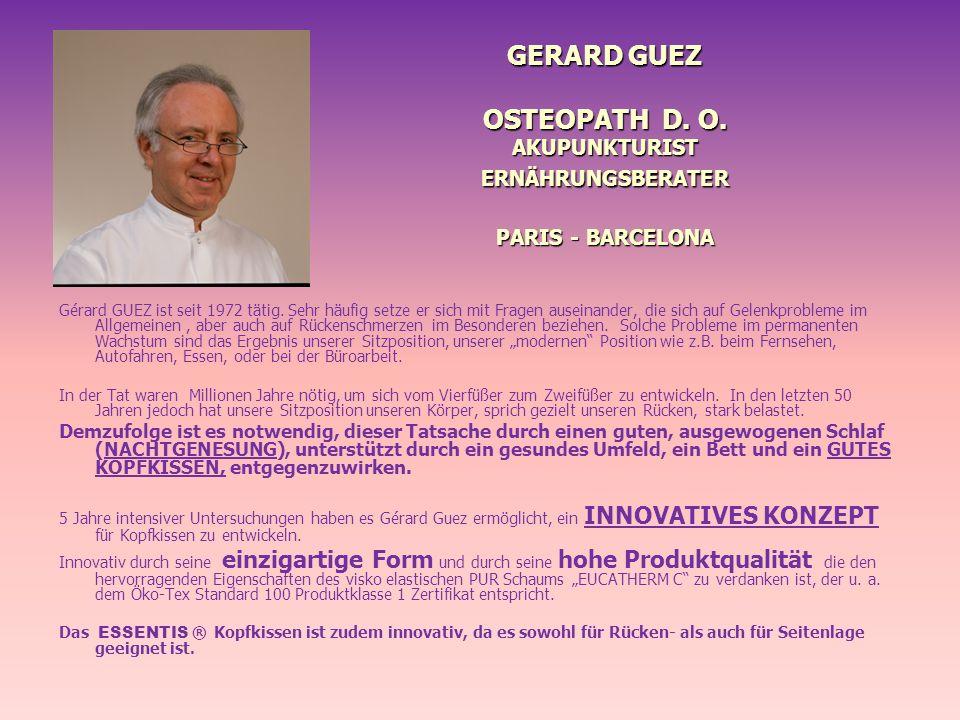 GERARD GUEZ OSTEOPATH D. O