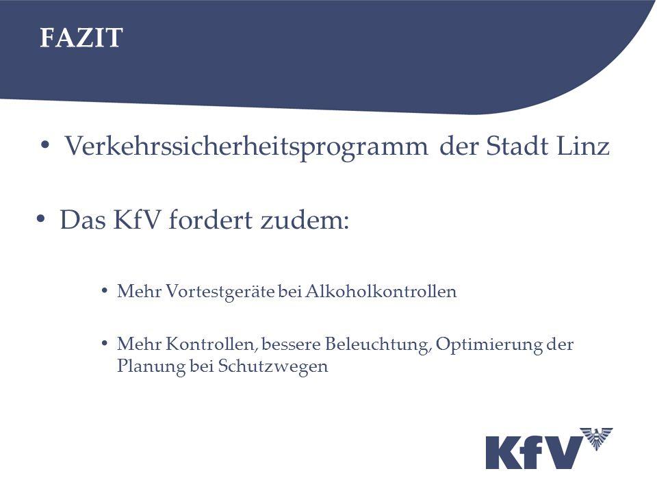 Verkehrssicherheitsprogramm der Stadt Linz