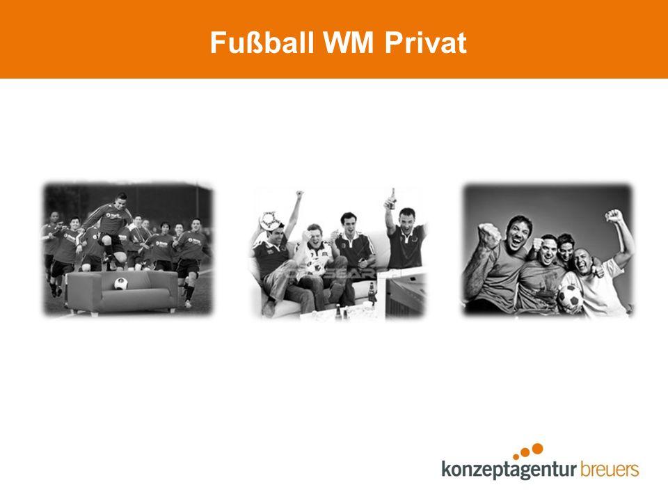 Fußball WM Privat