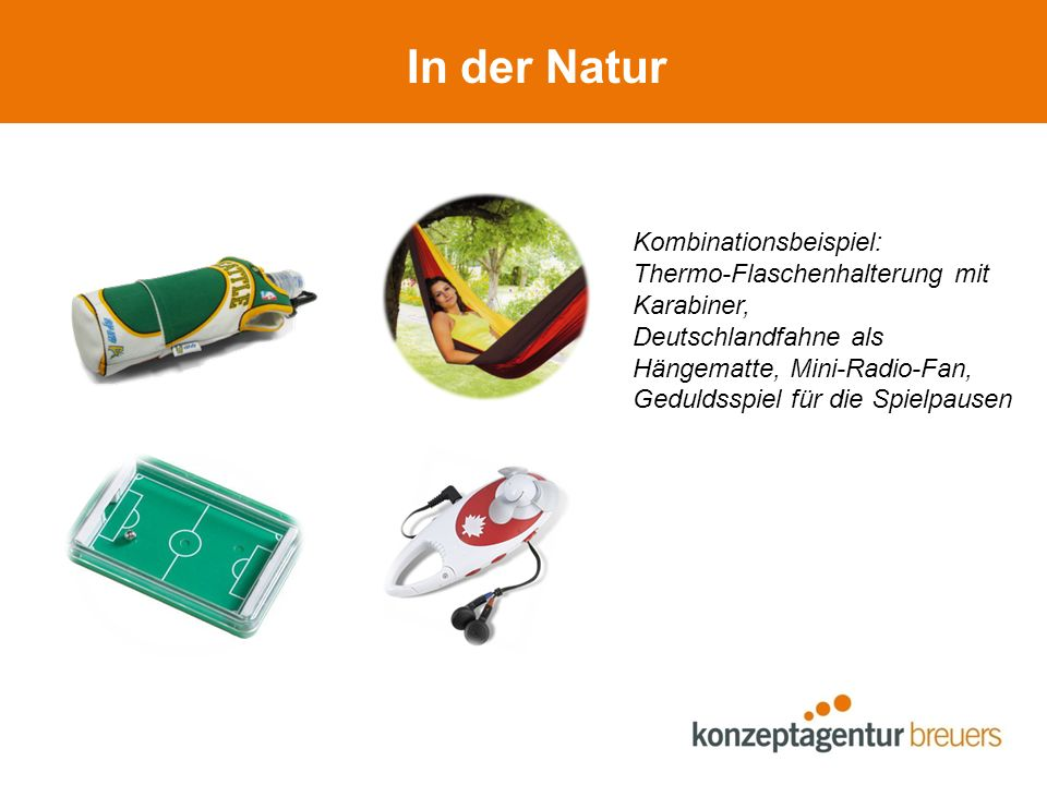 In der Natur Kombinationsbeispiel: