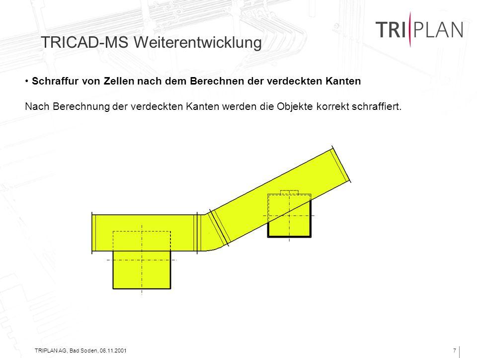 TRICAD-MS Weiterentwicklung