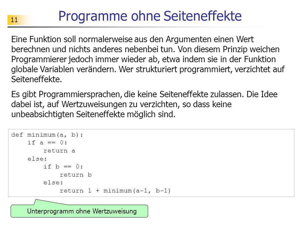 Programme ohne Seiteneffekte
