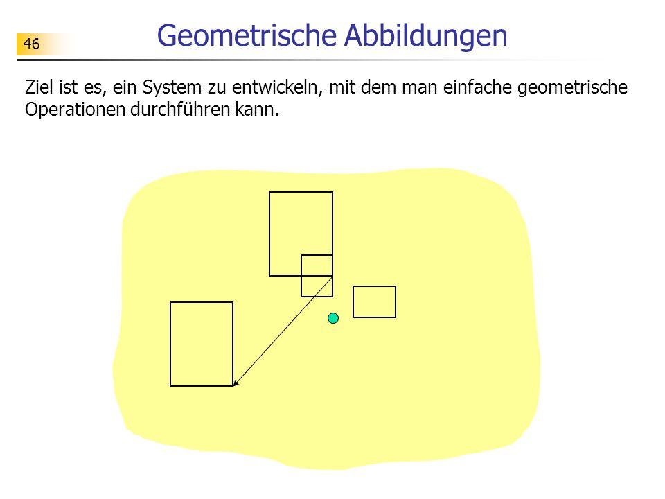 Geometrische Abbildungen