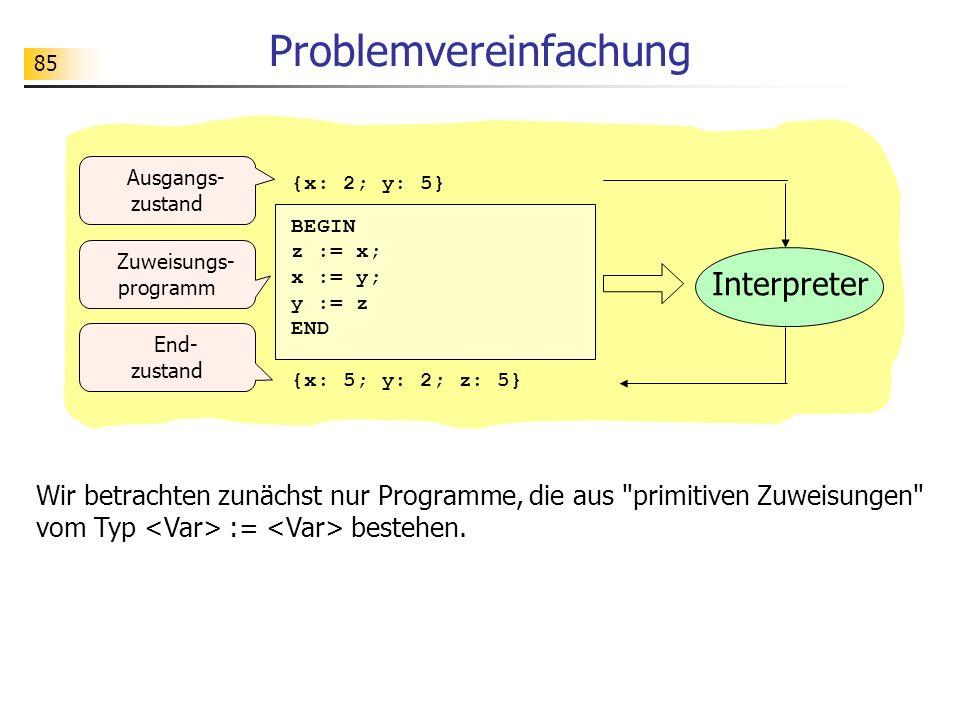 Problemvereinfachung
