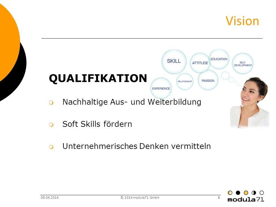 Vision Qualifikation Nachhaltige Aus- und Weiterbildung