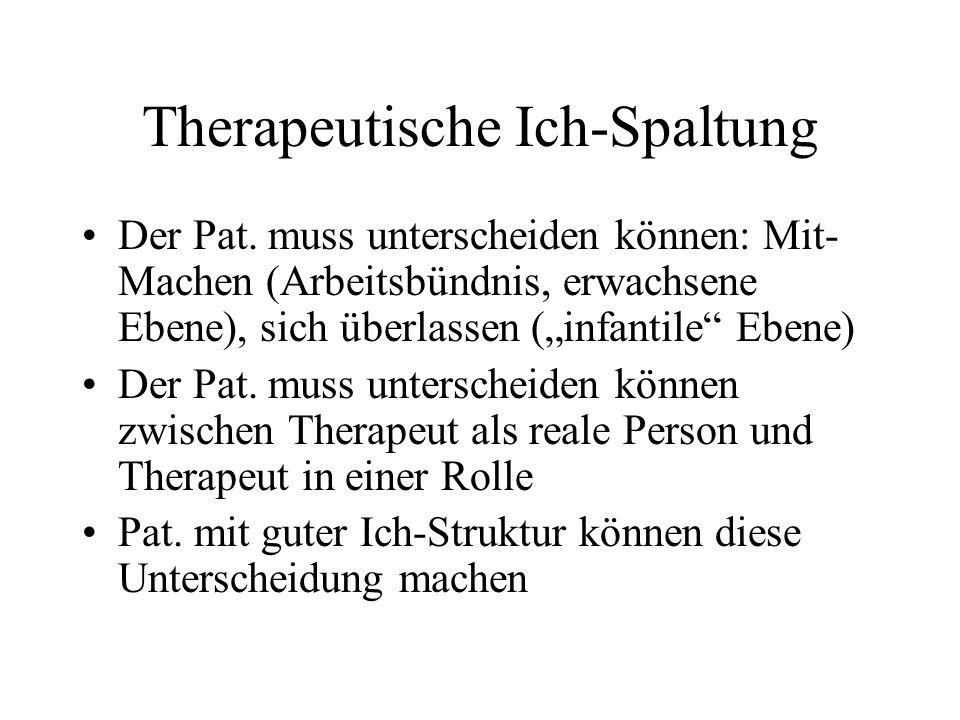 Therapeutische Ich-Spaltung