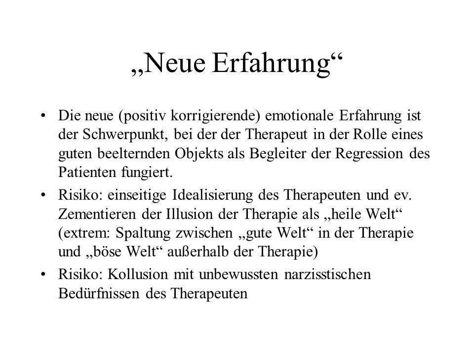 """""""Neue Erfahrung"""