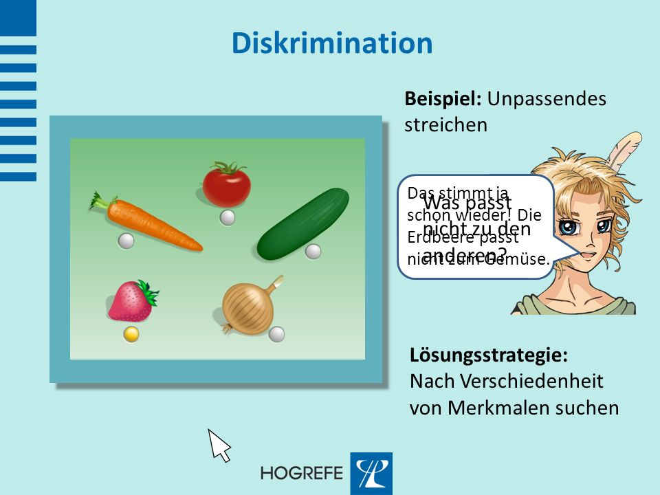 Diskrimination Beispiel: Unpassendes streichen