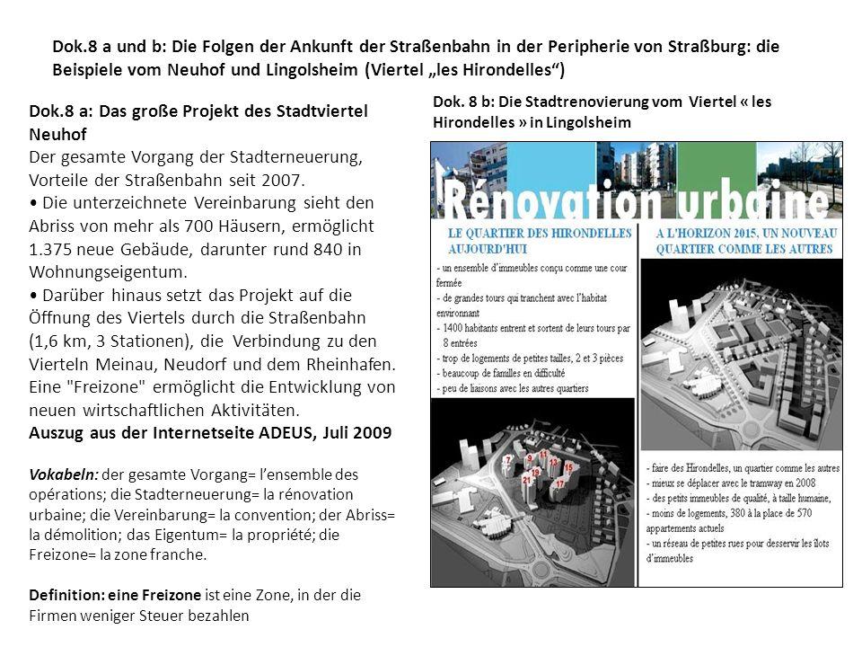 Dok.8 a: Das große Projekt des Stadtviertel Neuhof