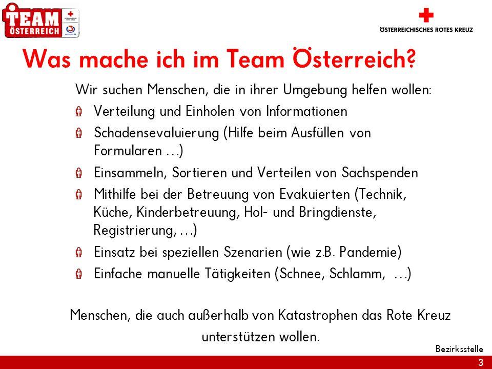 Was mache ich im Team Österreich