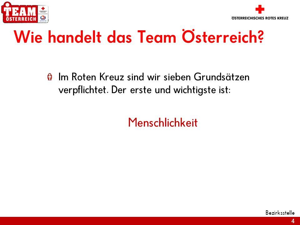 Wie handelt das Team Österreich