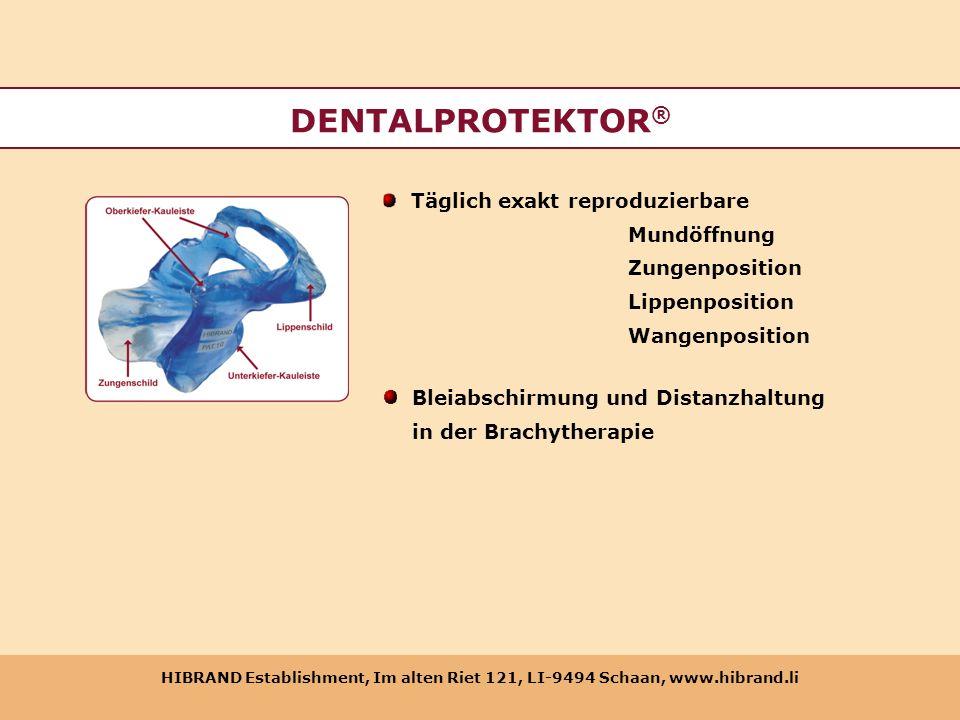 DENTALPROTEKTOR® Täglich exakt reproduzierbare Mundöffnung