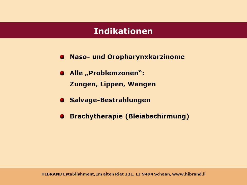 Indikationen Naso- und Oropharynxkarzinome