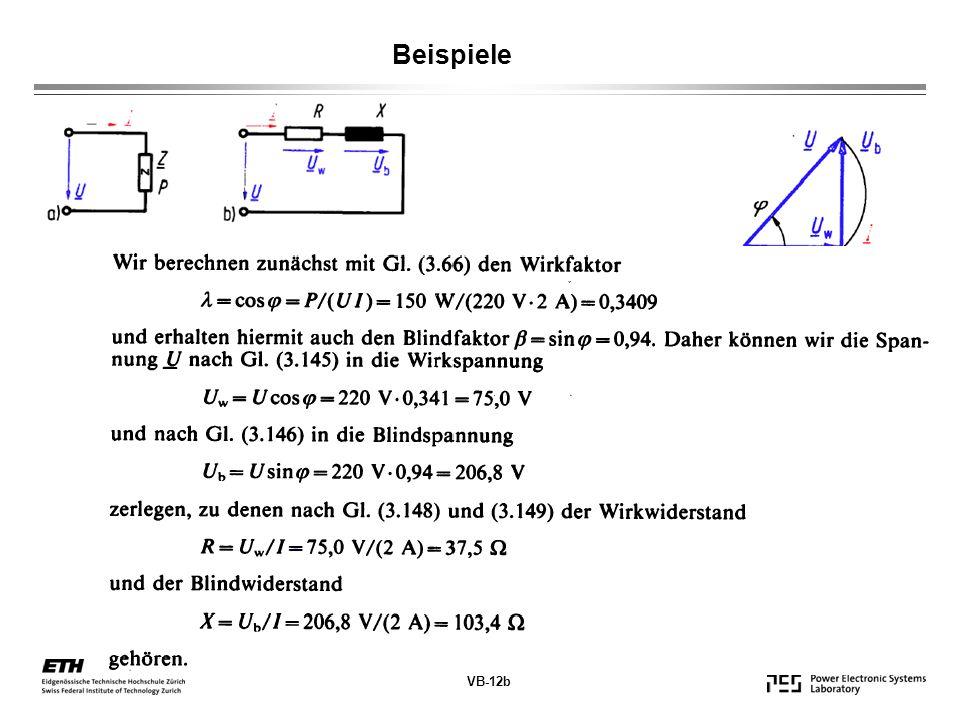 Beispiele VB-12b