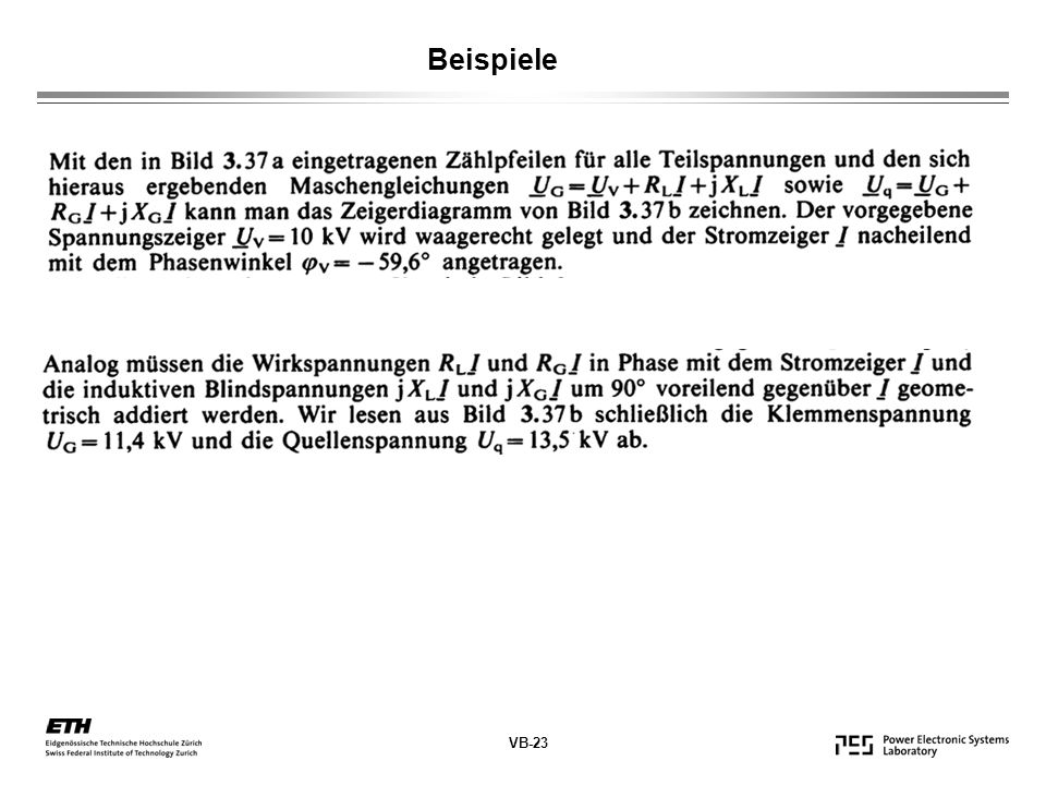 Beispiele VB-23