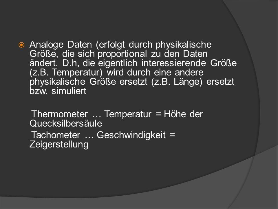 Thermometer … Temperatur = Höhe der Quecksilbersäule
