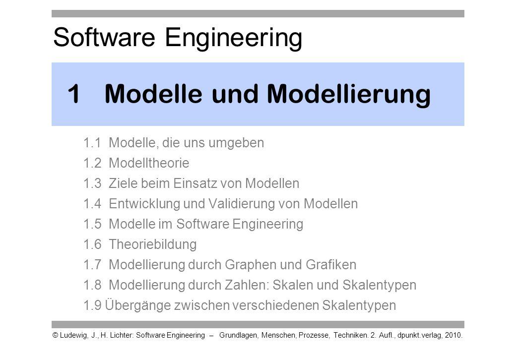 1 Modelle und Modellierung