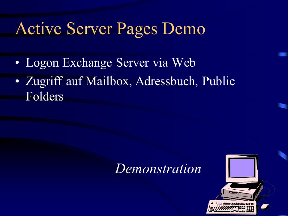 Active Server Pages Demo