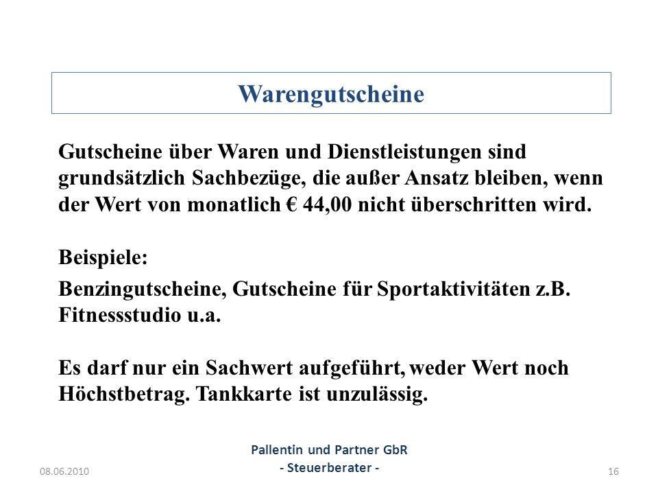 Pallentin und Partner GbR