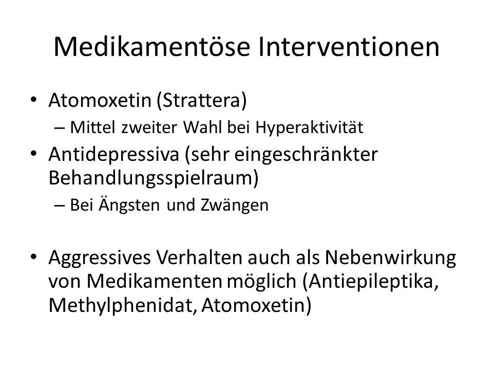 Medikamentöse Interventionen