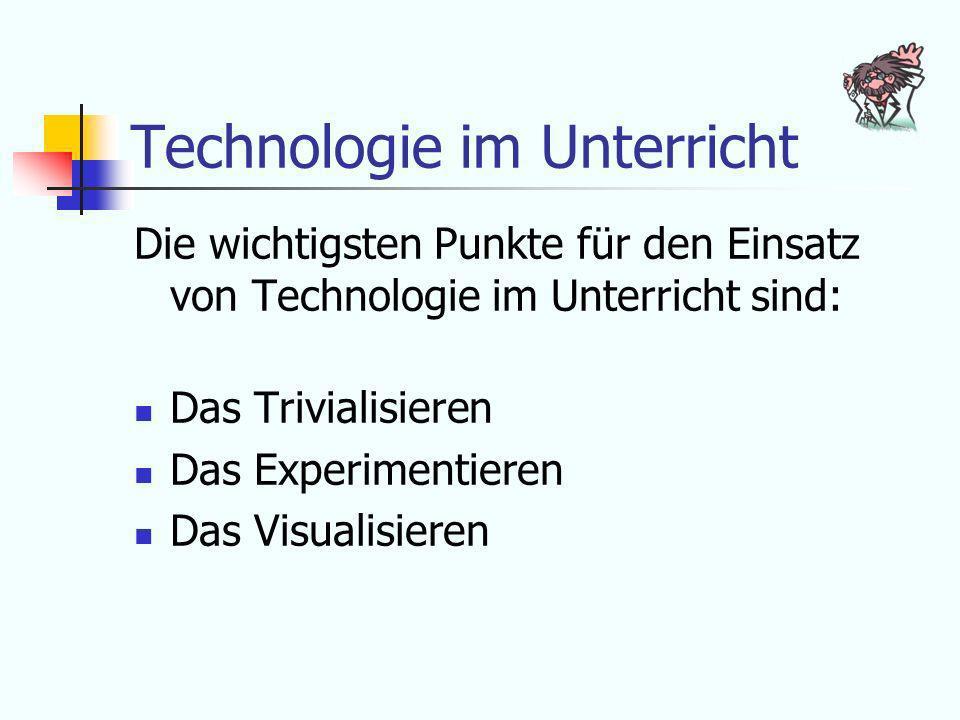 Technologie im Unterricht