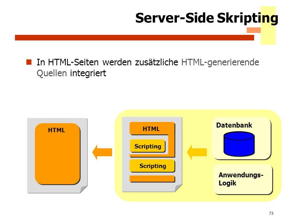 Server-Side Skripting