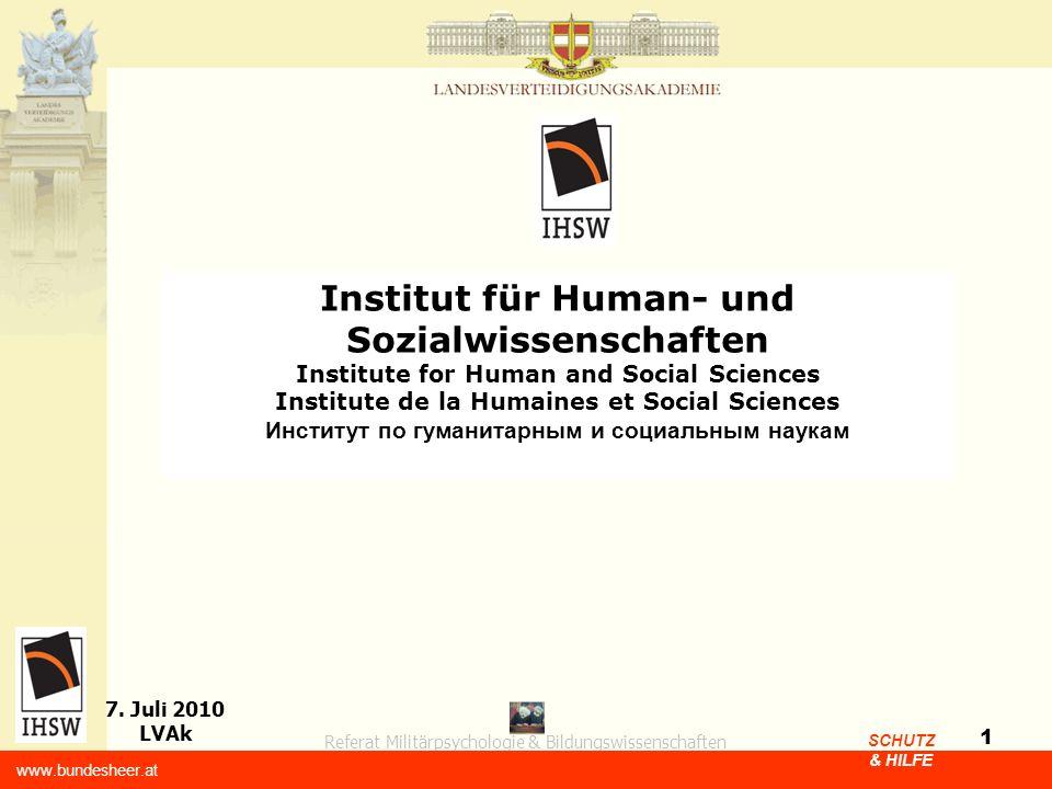 Institut für Human- und Sozialwissenschaften