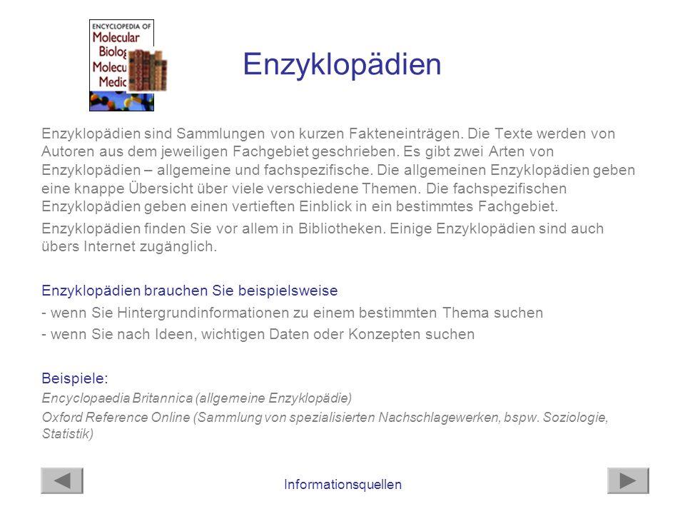 Enzyklopädien