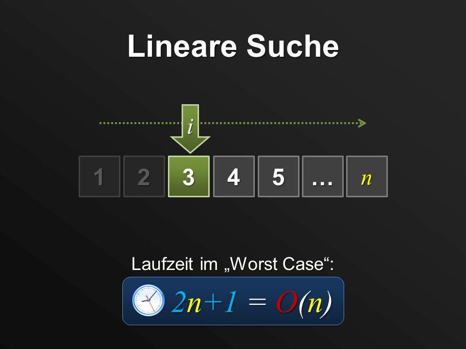 """Laufzeit im """"Worst Case :"""