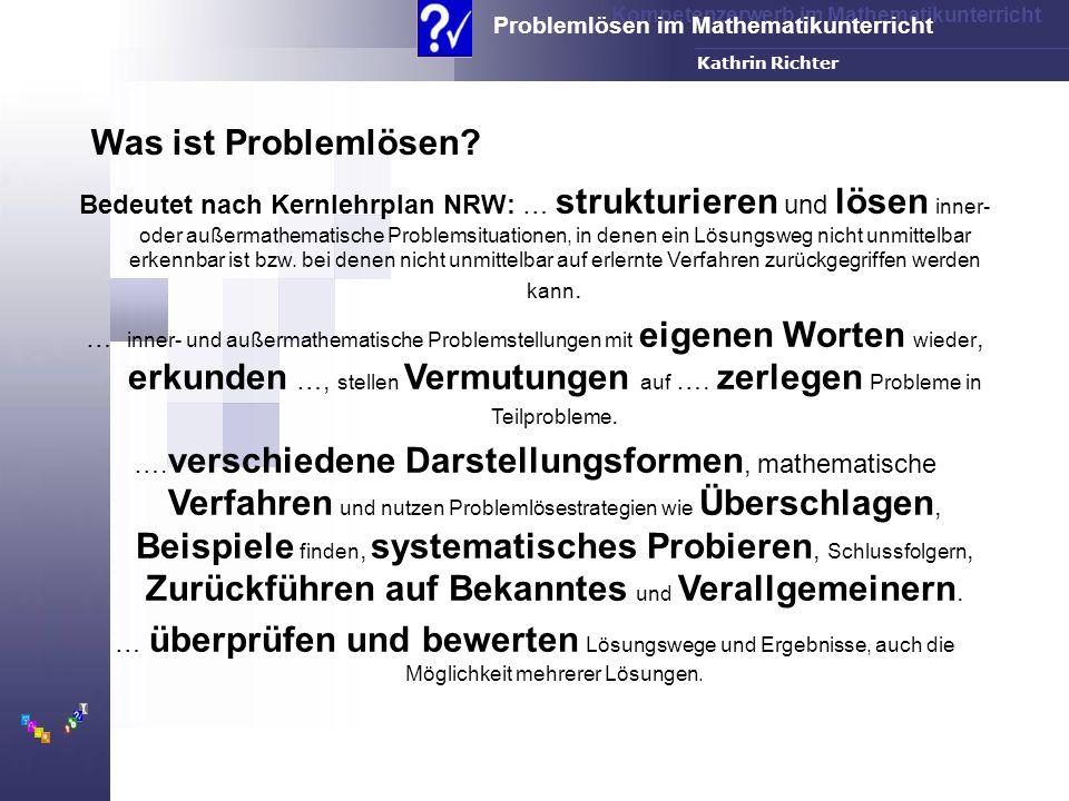 Was ist Problemlösen