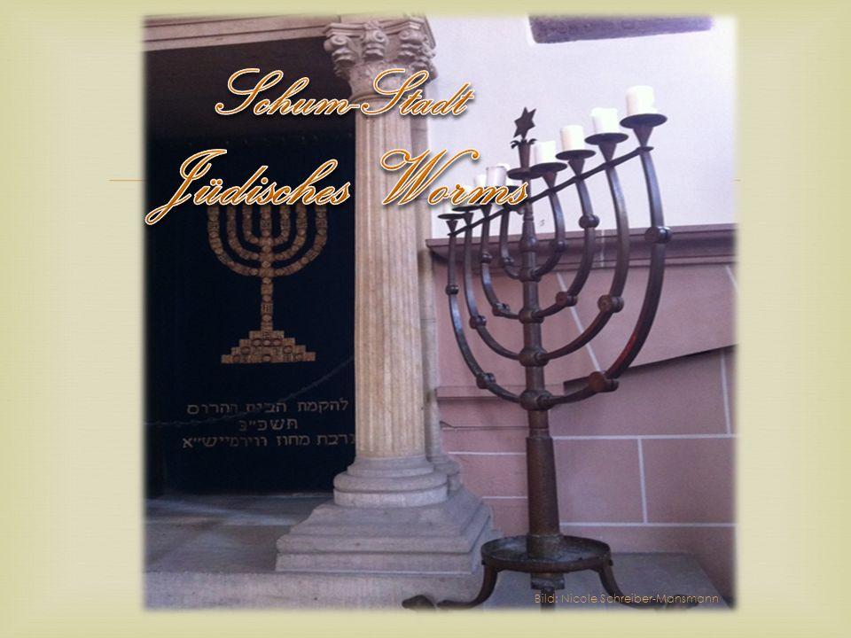 Schum-Stadt Jüdisches Worms