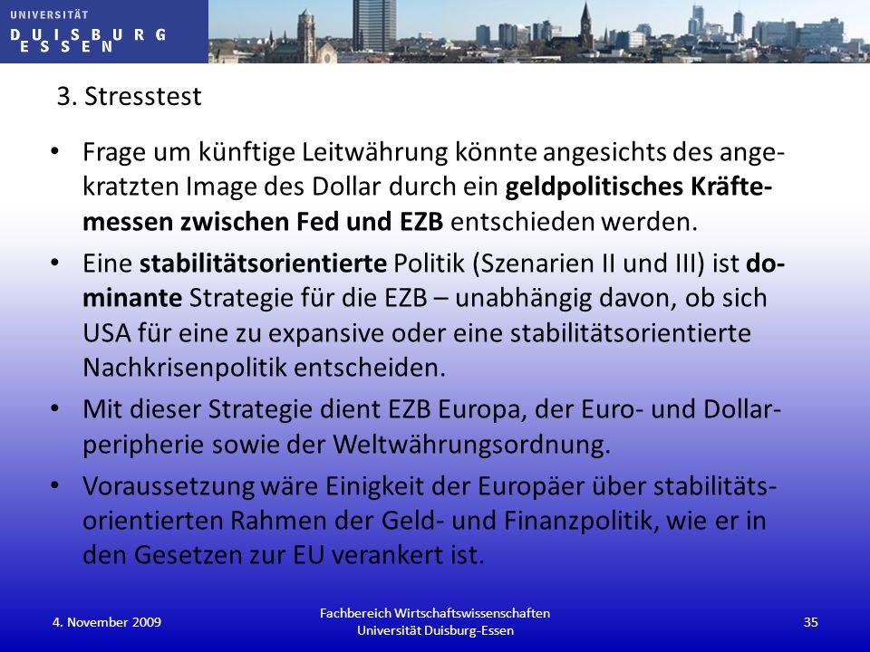 Fachbereich Wirtschaftswissenschaften Universität Duisburg-Essen