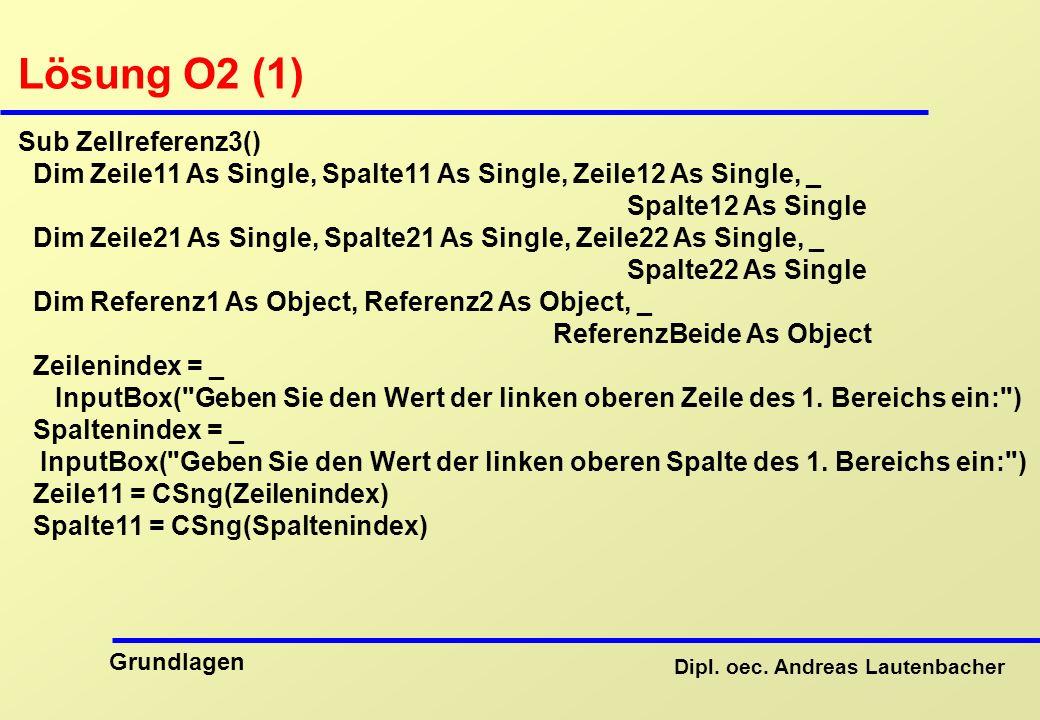 Lösung O2 (1) Sub Zellreferenz3()