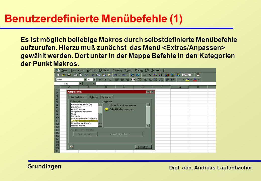 Benutzerdefinierte Menübefehle (1)